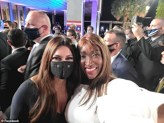 The Miami woman frequently voices her support for the president on social media and even shared photos with the Trump women at Thursday's event