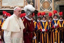 Coronavirus Spreads to Eleven of the Pope's Swiss Guards, Raising Further Fears for the Pontiff's Health