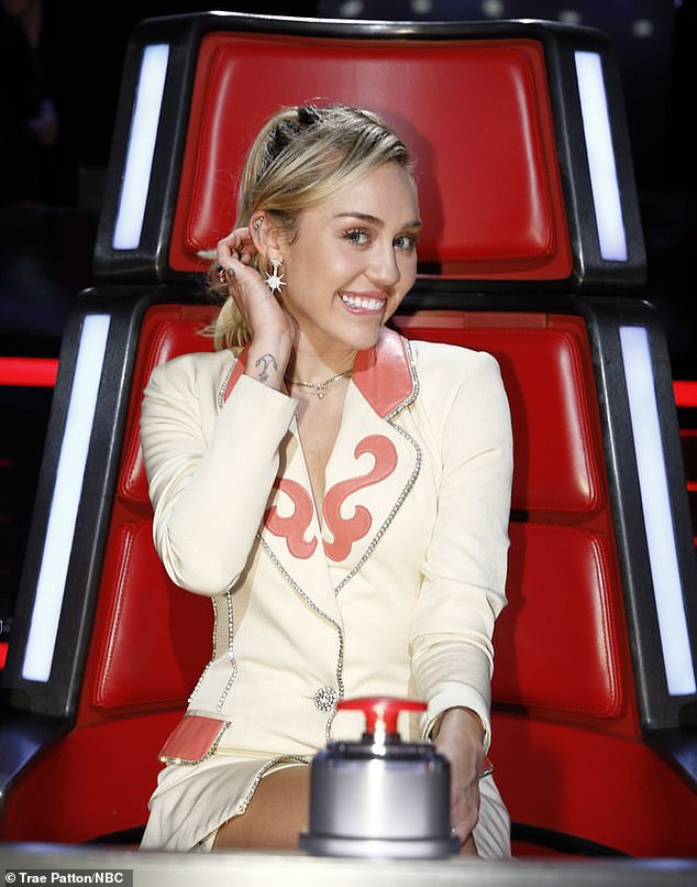 The Voice: Miley was a judge on the hit show for seasons 11 and 13. She recounted feeling embarrassed by the chaotic incident after her dog let loose on set