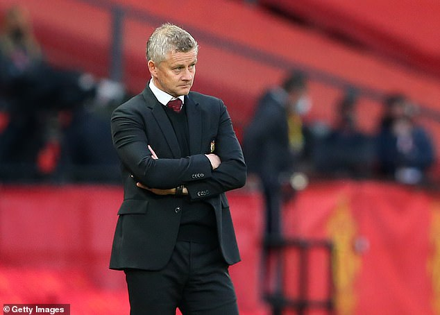 Solskjaer has come under mounting pressure following United's horror start to the campaign
