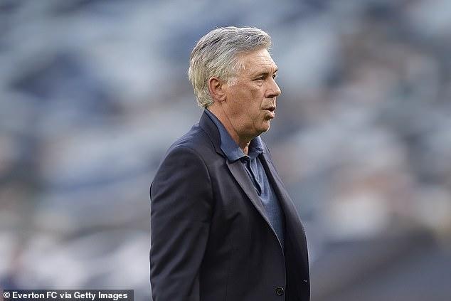 Midfielder hailed 'professor' Carlo Ancelotti after Everton start to season
