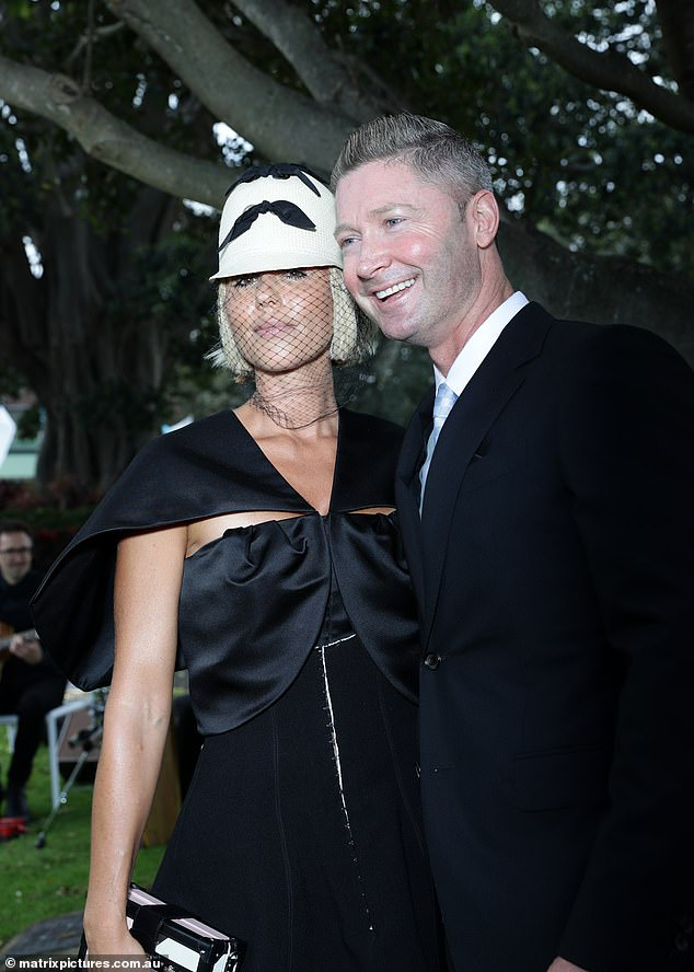 In public: While Michael and Pip announced their relationship on Instagram, Everest Racing Carnival is their first public event after Michael's separation from ex-wife Kyly Clarke (39) in February