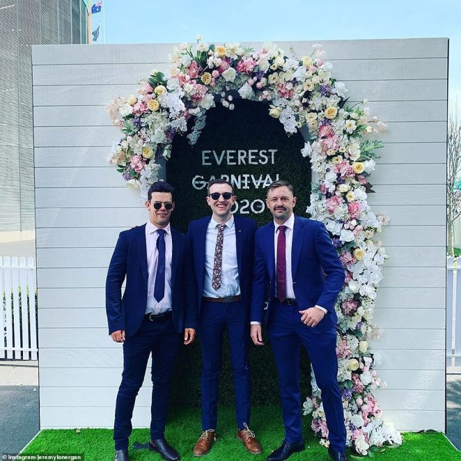 The Everest, an annual 1,200m invitational horse race, was held at Randwick Racecourse, in Sydney's eastern suburbs, on October 17 (pictured)