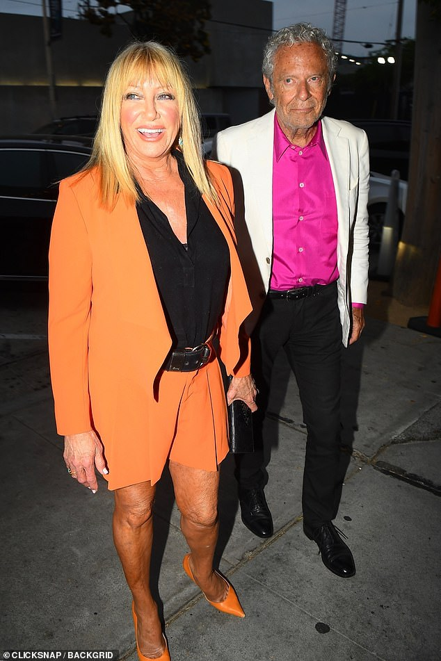 This is love: Alan, to whom Suzanne has been married since 1977, emerged unscathed from the accident and has since fallen in love with his wife left and right. seen in 2019