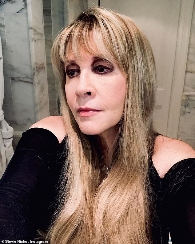 Natural:'Let me tell you, Botox only makes you look like you're in a satanic cult,' the Gold Dust Woman singer said. Pictured in 2020