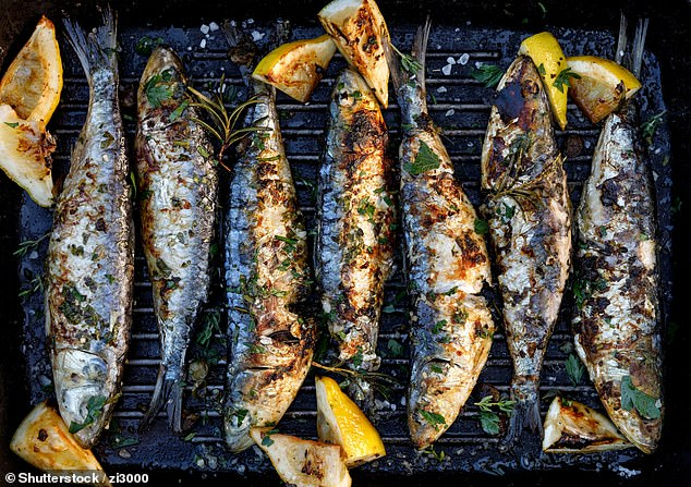 Omega-3 fats which are found in oily fish are considered to be good for the heart. The British Heart Foundation recommends eating fish twice a week, with one portion being oily fish