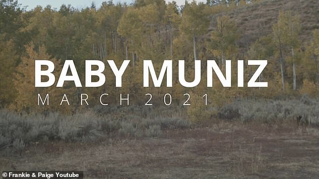 Coming soon: The description of the video revealed that the Muniz are `` currently traveling through Jackson, Wyoming and we have decided to make a little video ''