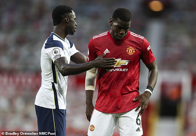 Pogba (right) has been linked with a move to 'dream club' Real Madrid over the past year