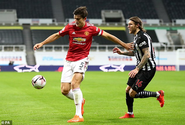 Maguire put a difficult spell behind him with a commanding display in victory at Newcastle