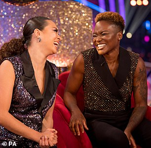 Trail Blazers! Nicola and Katya were confirmed as Strictly's first same-sex couple on Saturday