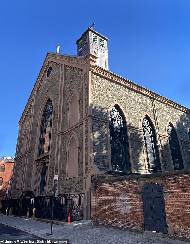 The Basilica of St. Patrick's Old Cathedral (pictured) has begun building hundreds of cremation niches that seel between $10,000 and $15,000