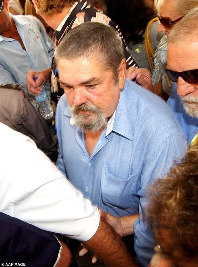 Tragic: The convicted drug smuggler explained her father Michael's death in January 2008 triggered years of psychosis. Michael is pictured in 2005