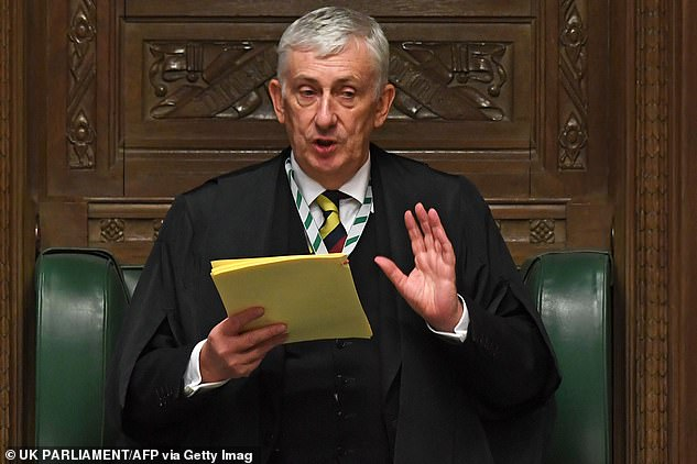 Commons Speaker Sir Lindsay Hoyle (pictured) yesterday banned alcohol sales in all Commons outlets. But earlier in the week, authorities reacted to the curfew breach by installing a new sign in the bar setting out the curfew rules