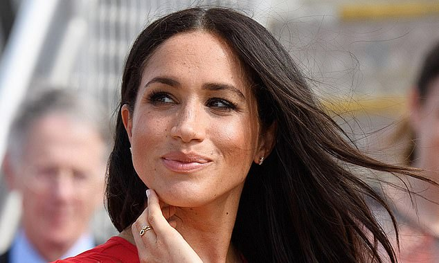 PS: AND THAT'S BEFORE WE EVEN GET STARTED ON THE JEWELLERY... Meghan has worn several pieces by ethical Canadian jeweller Ecksand, which uses traceable, conflict-free diamonds and is devoted to minimising its carbon footprint. A stackable ring, like the one she wore while watching the Invictus Games in Sydney in 2018, costs £585.