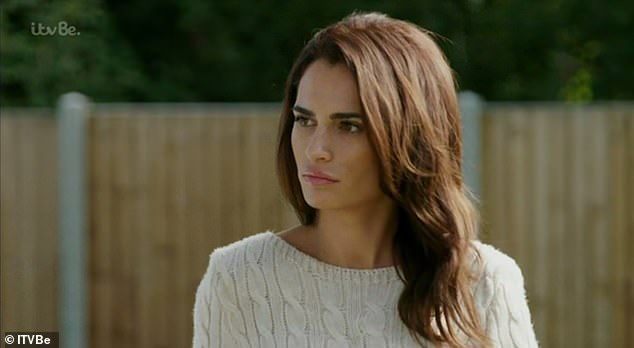 Harsh!Talking about Amber and the row at the start of the episode with Clelia Theodorou and Bobby Norris, Nicole said: 'She is hands down one of the vilest, rudest and b*******t people I have ever had a conversation with.'