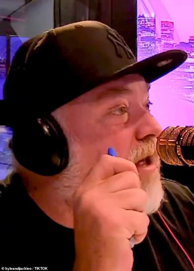 'They're a beautiful couple. They do everything together': On Monday, radio host Kyle Sandilands [pictured], who attended Zac's party, divulged rare information about his romance with Vanessa