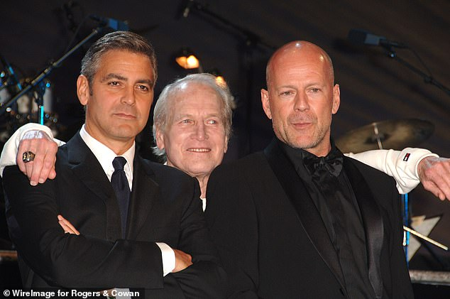 Funny Guys: Clooney admired Newman for his humor, like when he crashed his race, and compared it to Clooney's film Leatherheads, which was at the box office