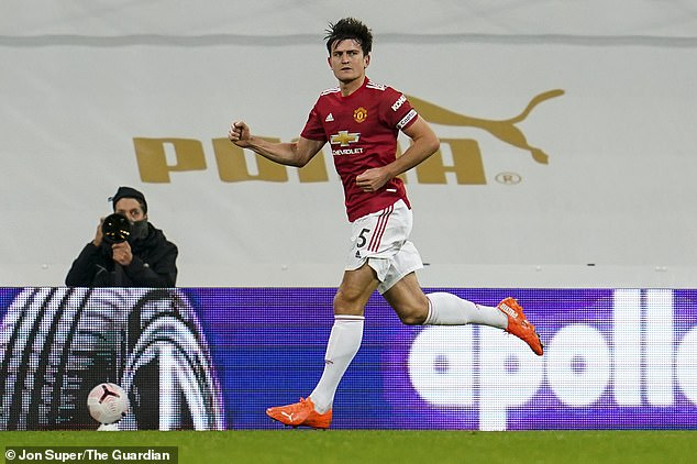 Harry Maguire has had a tough time lately but he took a step in the right direction on Saturday