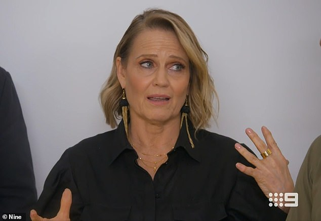'I had days when I just sobbed and sobbed': The Block's Shaynna Blaze has revealed she suffered greatly during Melbourne's strict second lockdown