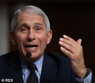 Pictured: Dr. Anthony Fauci