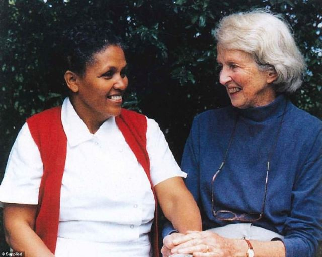 Through drought, famine and murderous regimes, Dr Hamlin (pictured with Mamitu) devoted her days to this cause before her death at the age of 96 on March 18, 2020