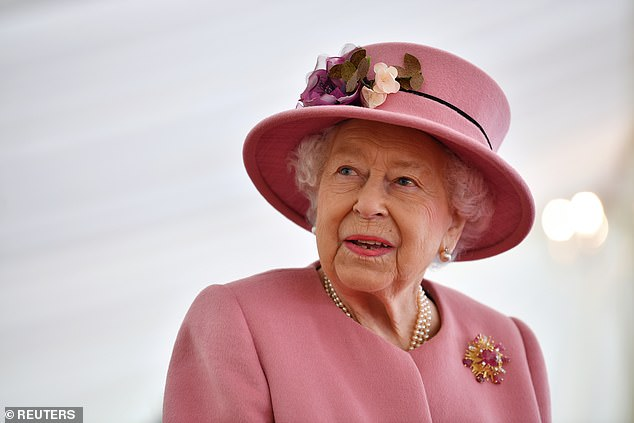 Sad: Royal expert reported the news would likely be 'disappointing' for the Queen, 94, who Harry and his great-grandson Archie 'miss' whom she has not seen since a year