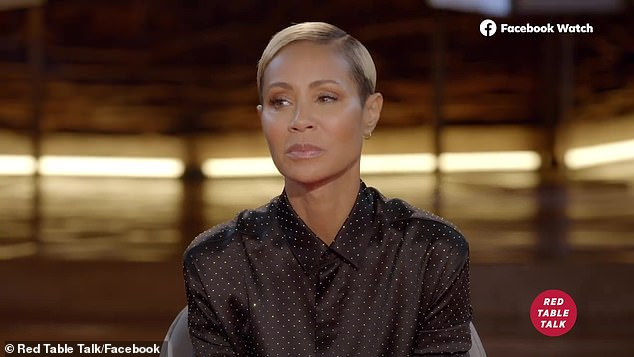 Platform: The couple, who now have a close relationship and are quarantined together, are expected to appear in the episode of Red Table Talk on Tuesday with hosts Jada Pinkett Smith, Willow Smith and Adrienne Banfield-Norris.