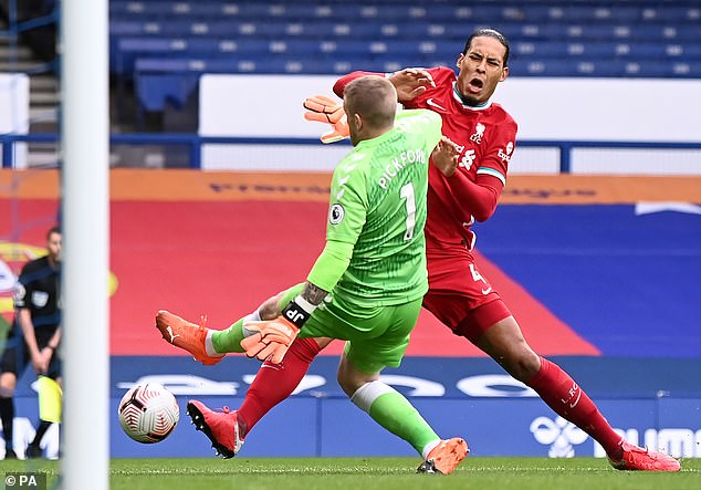 The absence of defender Virgil van Dijk will be huge for Liverpool this season