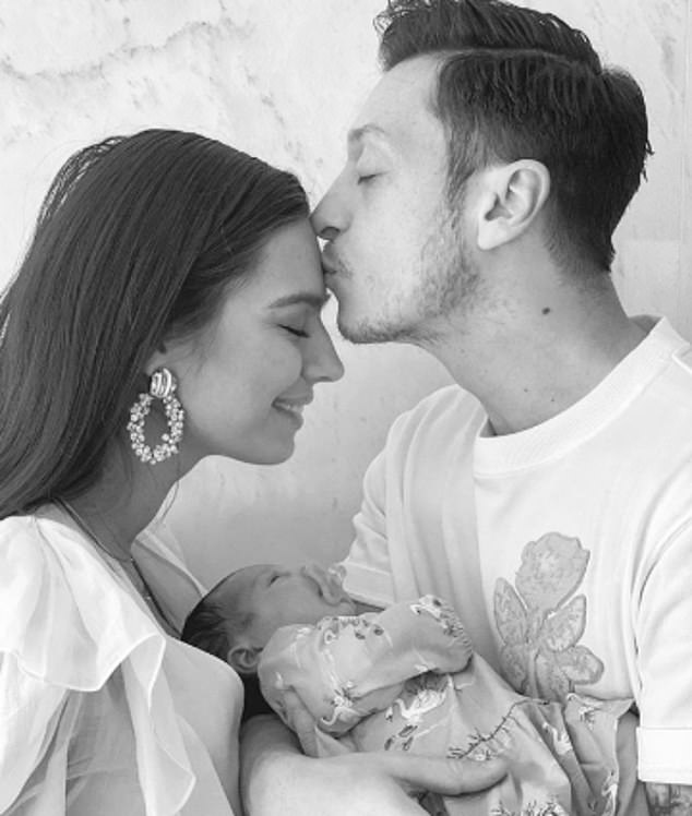 The couple welcomed their first child in March when Amine gave birth to daughter Eda