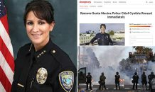 Santa Monica Police Chief Cynthia Renaud is forced out after more than 60,000 people sign petition over her 'lack of strong leadership' during the riots and looting in wake of George Floyd death