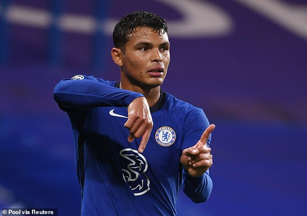 Veteran defender Thiago Silva played for the Blues who were criticized defensively
