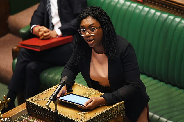 Ms Badenoch was responding to the Labour MP Dawn Butler on the decolonising of the curriculum