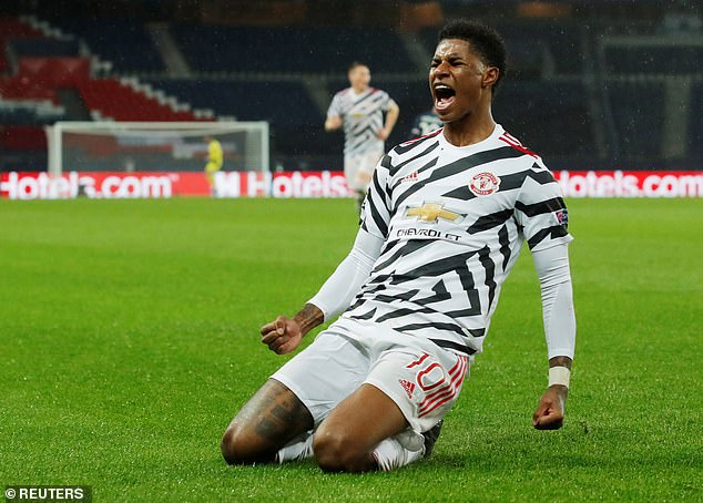 The campaign has been completely championed by Manchester United striker Rashford