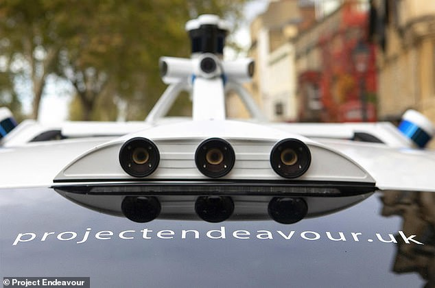 Technology firm Oxbotica, spun out of an Oxford University project, has retrofitted the vehicles which are following a nine-mile round trip within the city