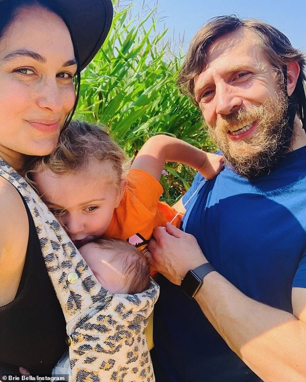 Snap: Nikki's twin sister Brie gave birth to a baby boy the next day after Mato's delivery.  Brie and Hubie Daniel Bryan welcomed son Buddy, one to daughter Birdy, three brothers.