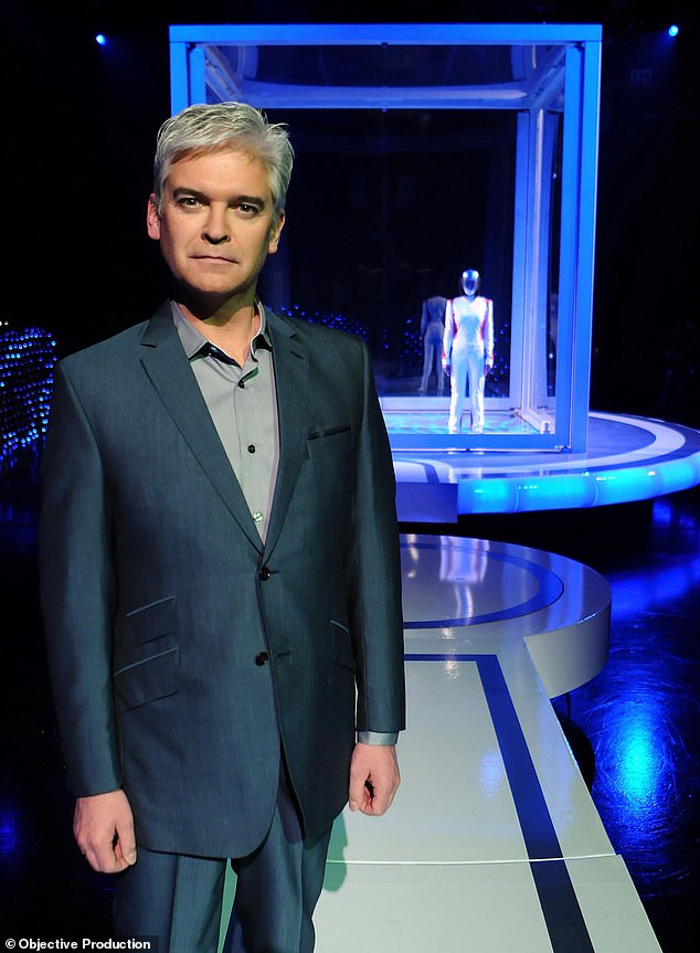 Top secret: Even Phillip Schofield was in the dark about The Body's identity when the series first premiered in 2009