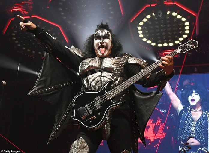 Family move: Simmons, who helped form KISS in 1973, plans to move to a 24-acre estate in Washington state near Mount Rainier, in part because of tax hikes in California.