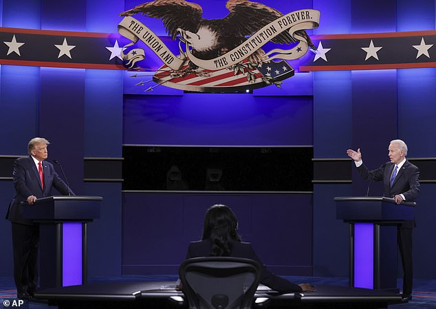 The Commission on Presidential Debates changed the organization of the debate so the microphones would be muted while the other candidate was giving a two-minute answer to the moderator's question