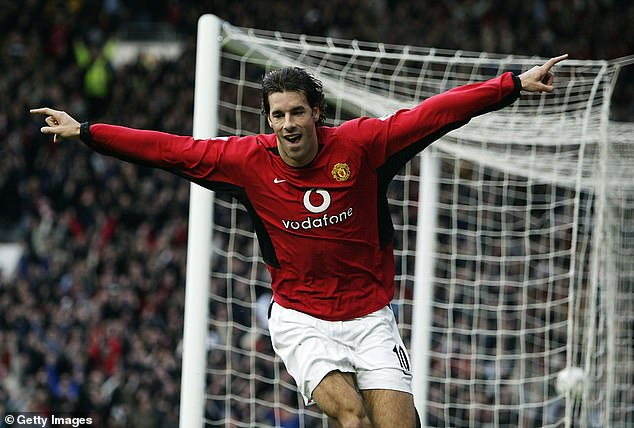 Ruud van Nistelrooy has joined the squad after scoring 150 goals in 219 appearances for United