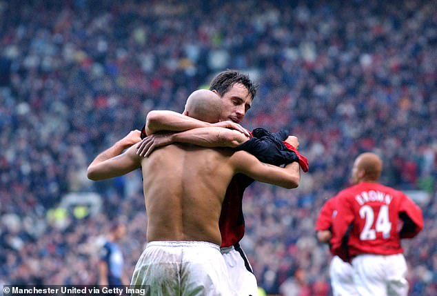 Veron struggled to live up to the hype when he joined United in a very financial move in 2001