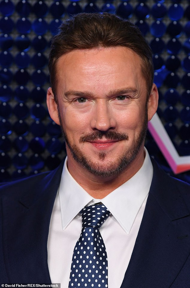 Rumored candidate: Tenor Russell Watson has also been spotted, which has sparked speculation he is also part of the star-studded lineup