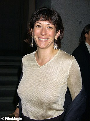 Pictured: Ghislaine Maxwell
