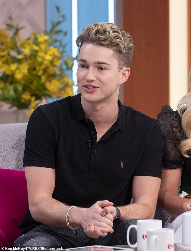 Ready for a Challenge: Earlier this month, AJ Pritchard opened up on speculation he was set to appear on the show and said he wanted to be there alongside his brother Curtis.