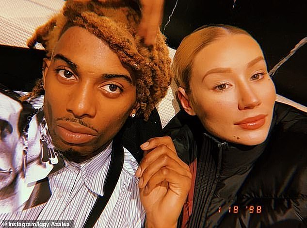 Not soft veil: Iggy and Carti (real name Jordan Terrell Carter) started dating in 2018 and had what many would describe as an intermittent relationship
