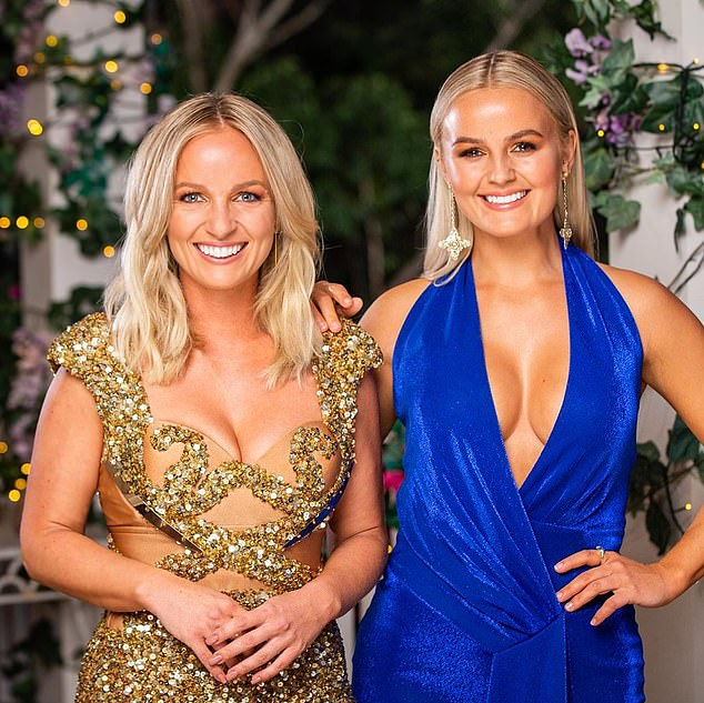 Flop: The Bachelorette could not give any major ratings for its premiere in early October, although it had revised the format by casting two sisters. Pictured: Elly (right) and Becky Miles (left)