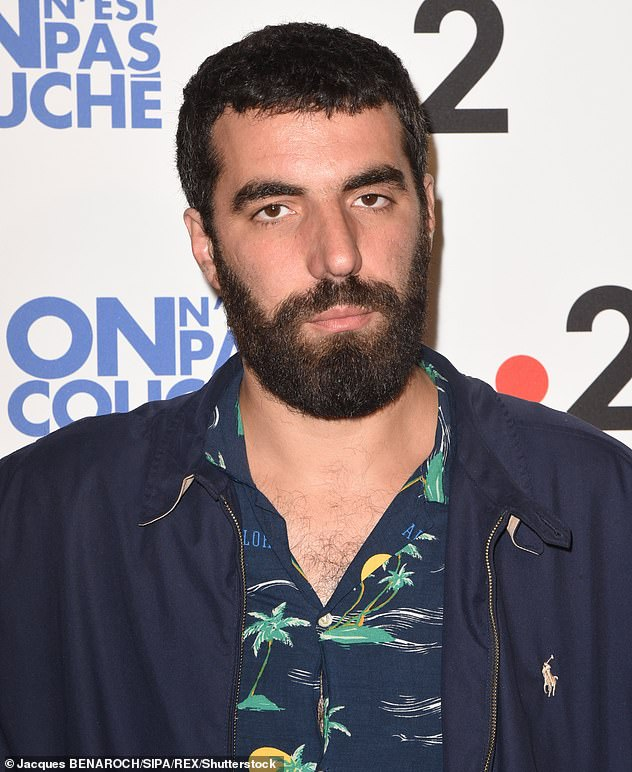 Love life: The singer recently sparked engagement rumors with boyfriend Romain Gavras (pictured in 2018) after she was seen wearing a diamond ring on her wedding finger