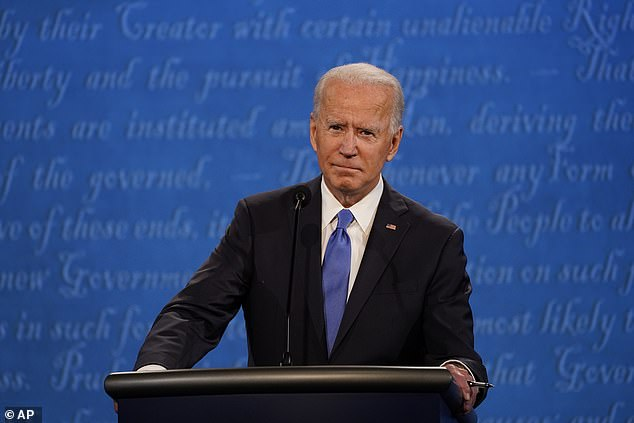 Joe Biden vowed during the second and final debate Thursday that he would transition the U.S. away from oil and fracking toward wind and solar and other renewable energy sources by 2050