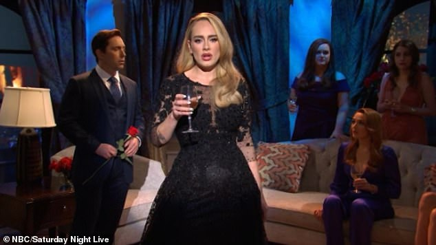 Showstopper: Ben K was unimpressed by Adele's direct approach and gave her the boot from the show, but she returned to give the audience one final performance