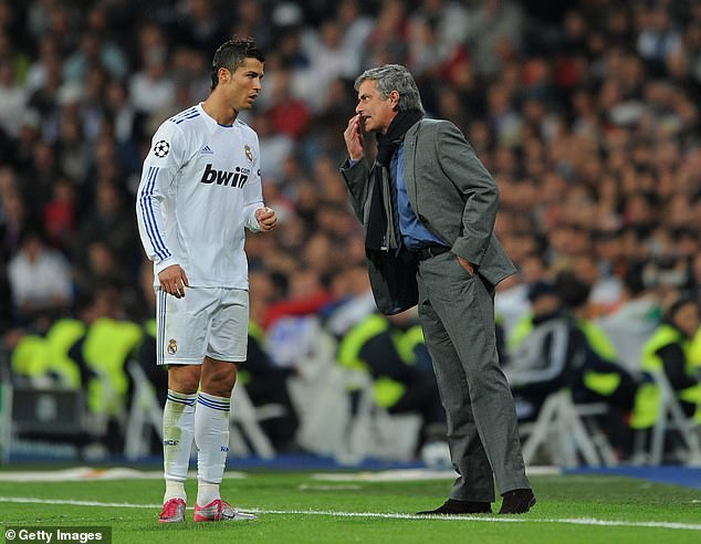 Real Madrid scored 121 goals and won La Liga with 100 points in 2011-12 underMourinho
