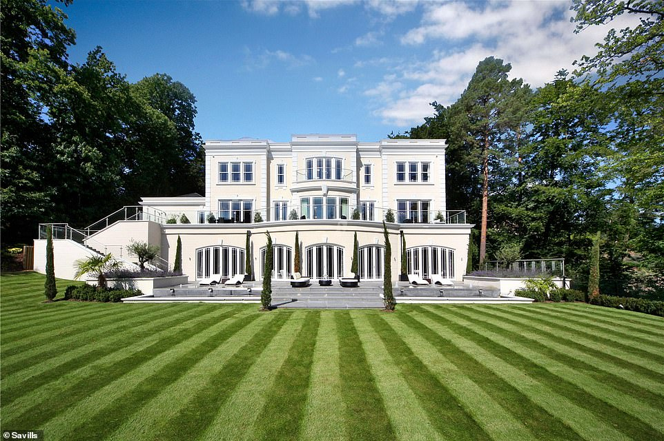 Exclusive tour of a Surrey mansion: Beech Rise on St George's Hill, Weybridge, is for sale for £10.7million